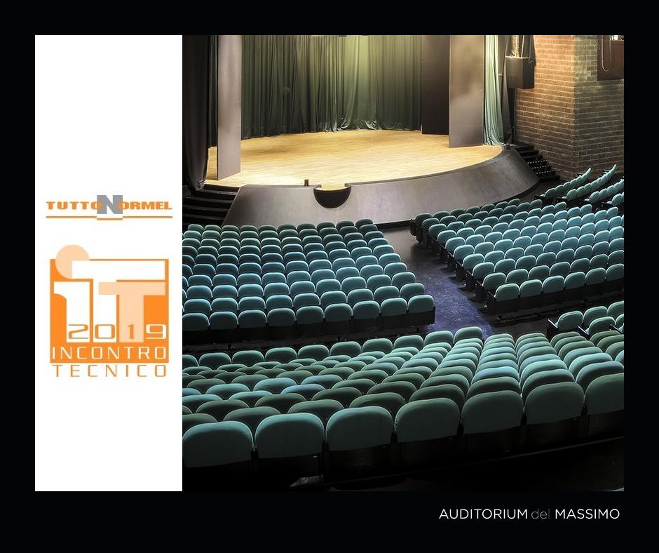Auditorium del Massimo eventi Tuttonormel location organizzazione opportunità sale