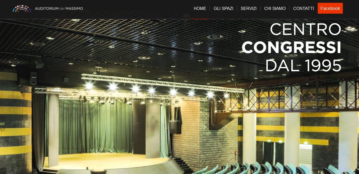 Location per eventi - Il sito web