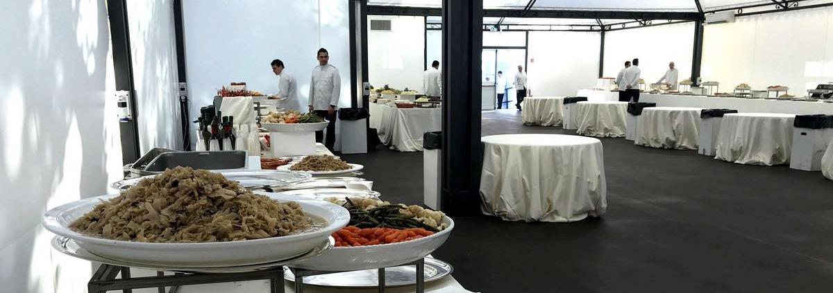 Catering per grandi eventi