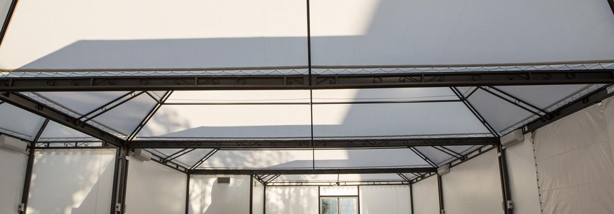 Auditorium del Massimo Sala Francesco Saverio tensostruttura top level location per eventi