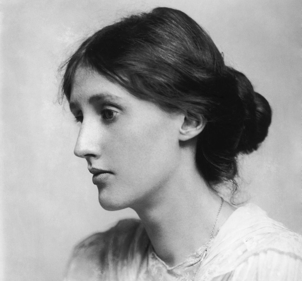 Virginia Woolf by George Charles Beresford via Wikipedia