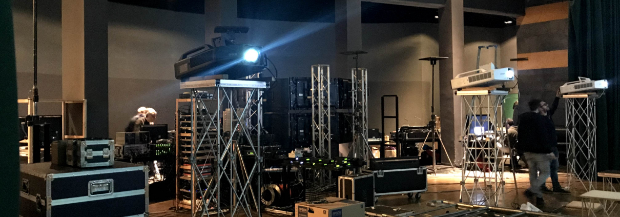 Audio, video and lighting service
