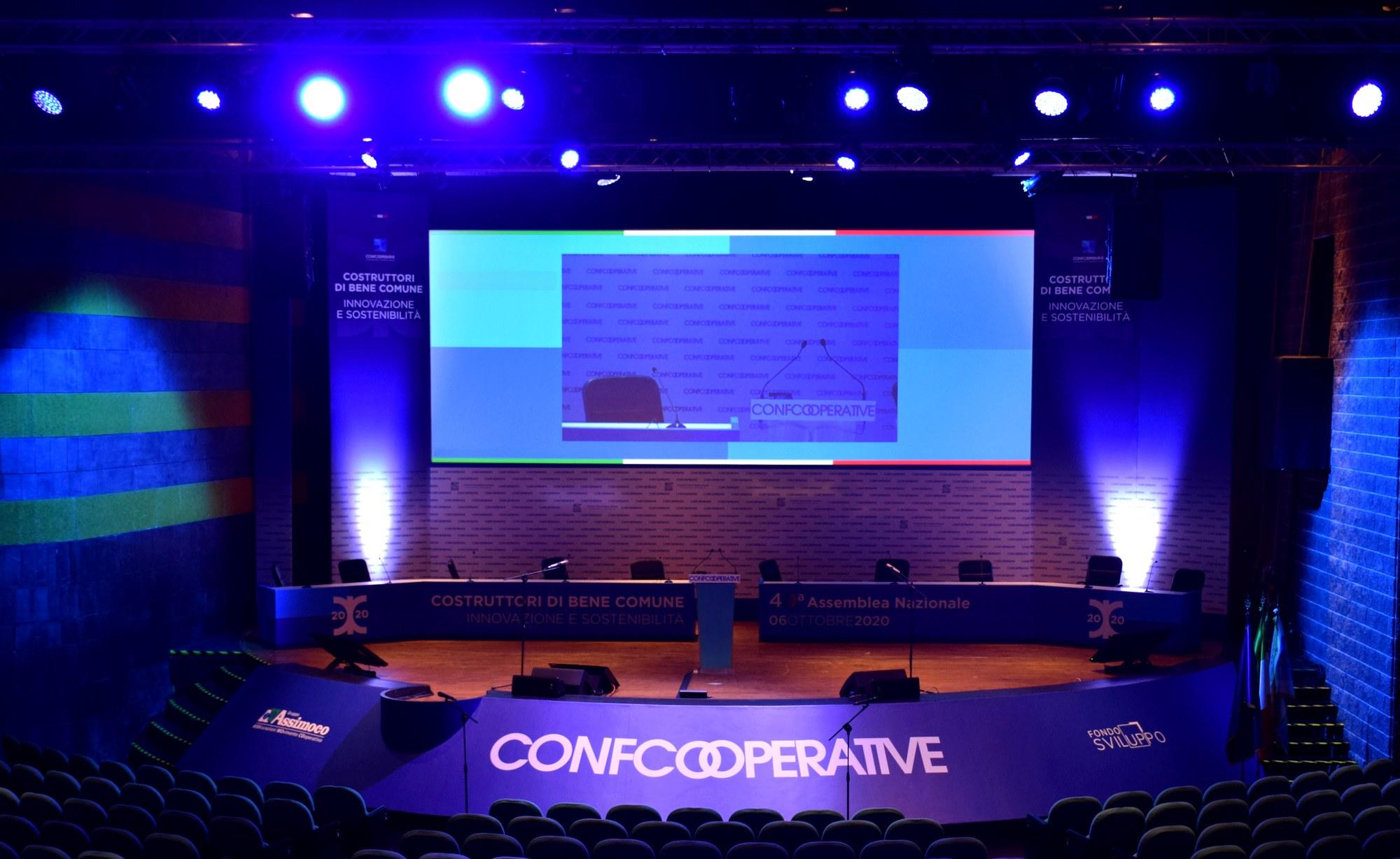 sala massimo confcooperative 2020